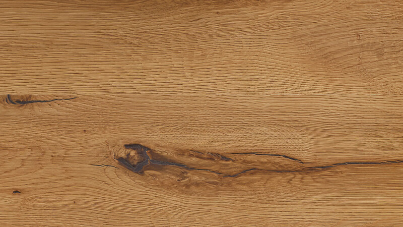 European Dark Oak, solid, heavily brushed